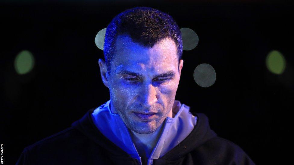 Wladimir Klitschko Wembley ringwalk