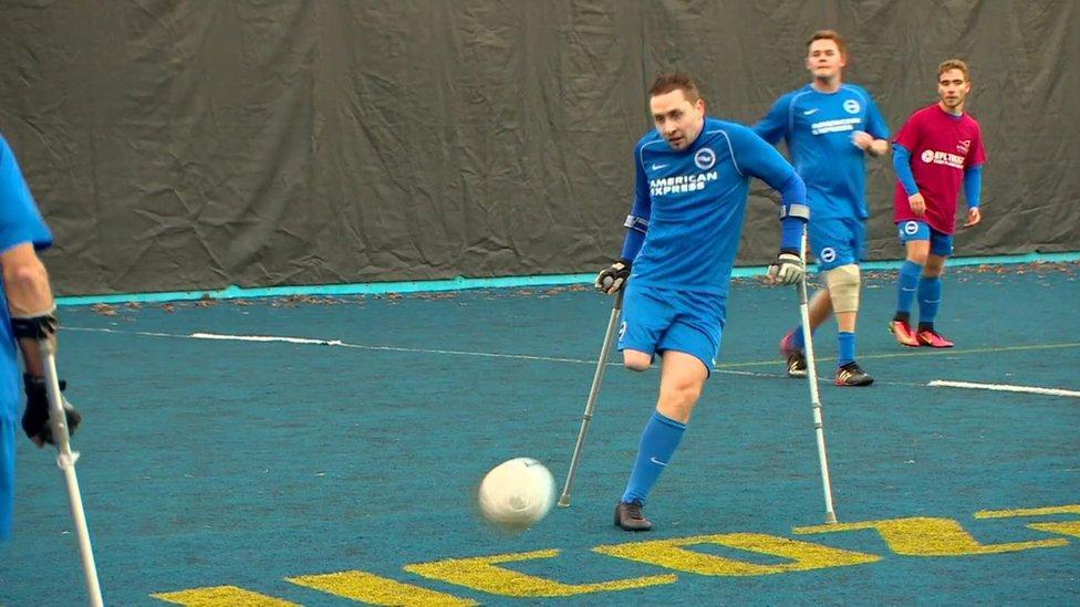 Disabled football campaign kicks off