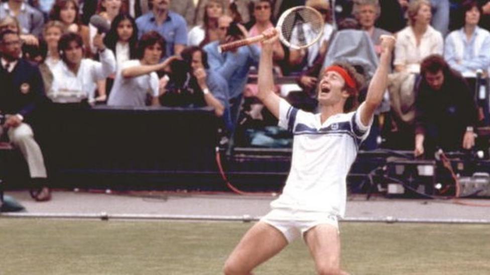 McEnroe's famous outburst