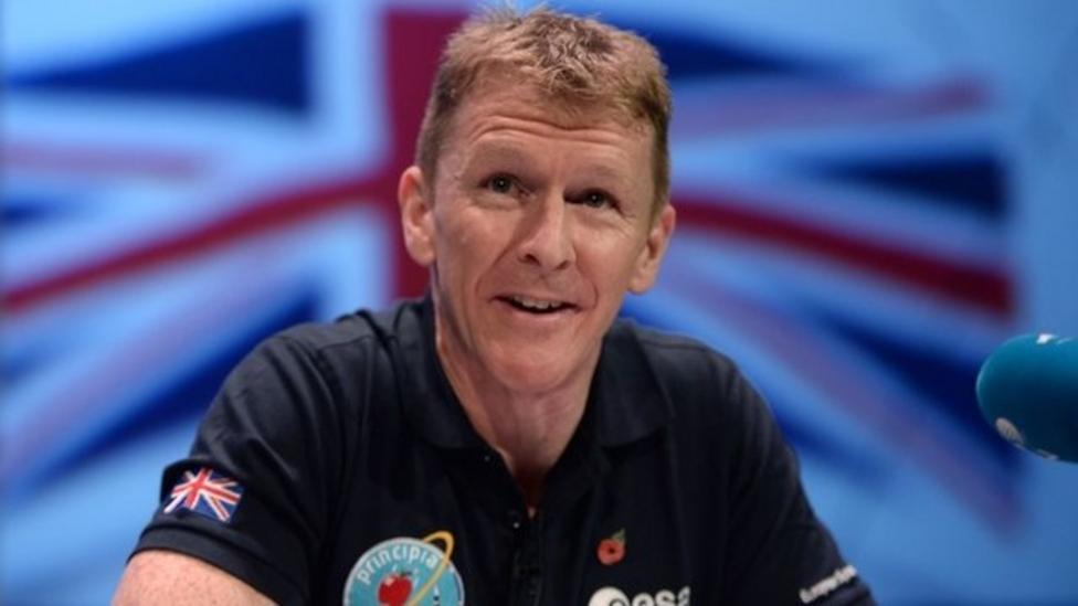Tim Peake to run a space marathon