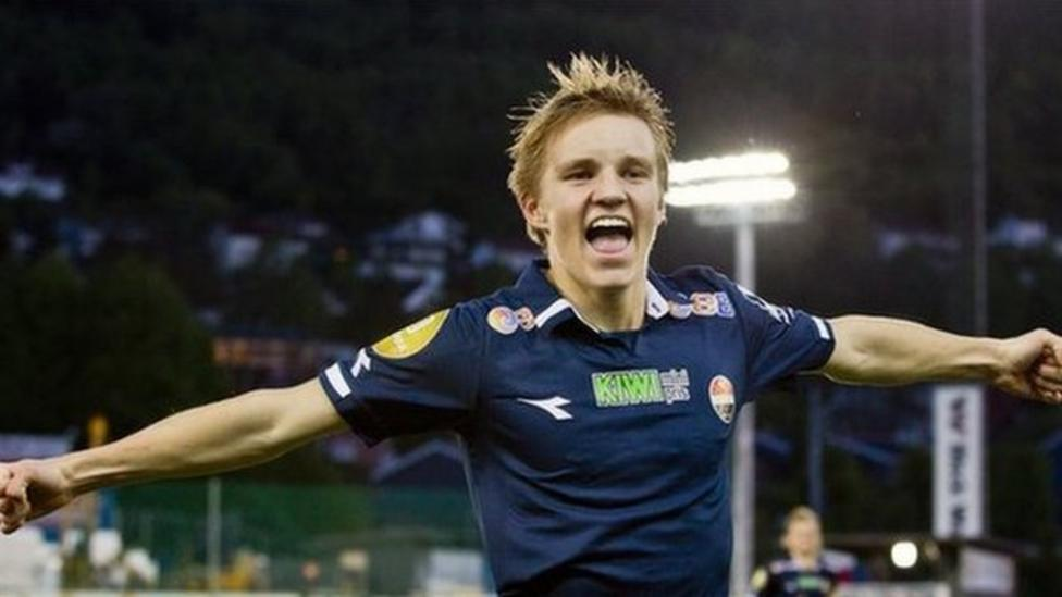 Martin Odegaard signs for Real Madrid