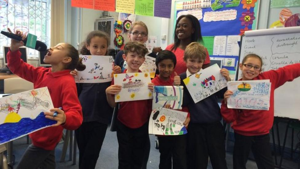 Kids messages to world leaders