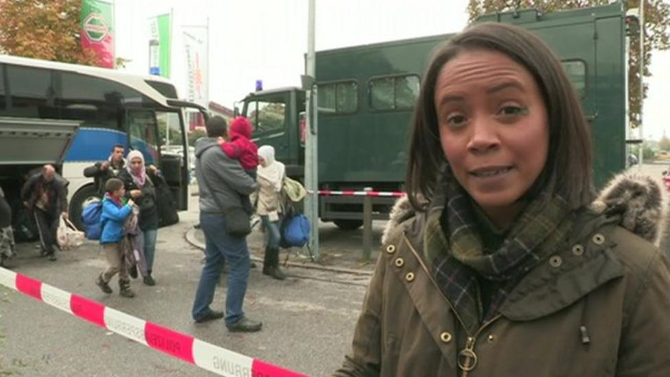 What happens to migrants in Germany?