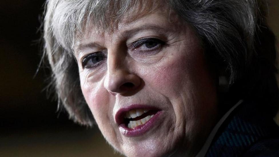 Who is Theresa May?