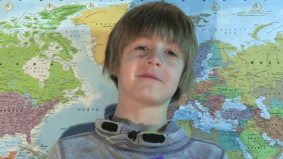 Boy sends letters to every country