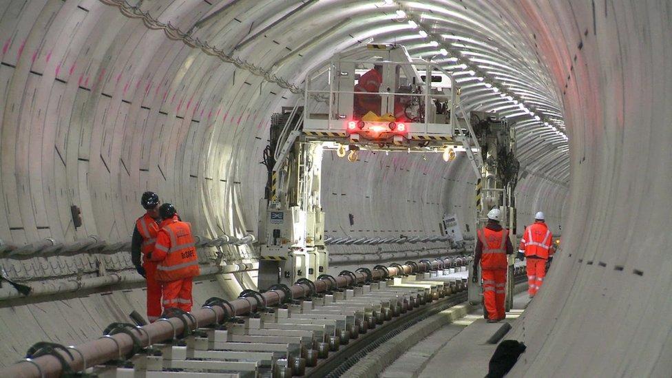 How do you build a new underground railway?