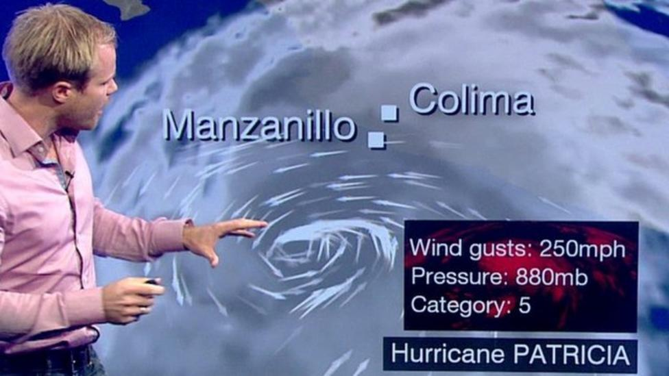 How did Hurricane Patricia form?