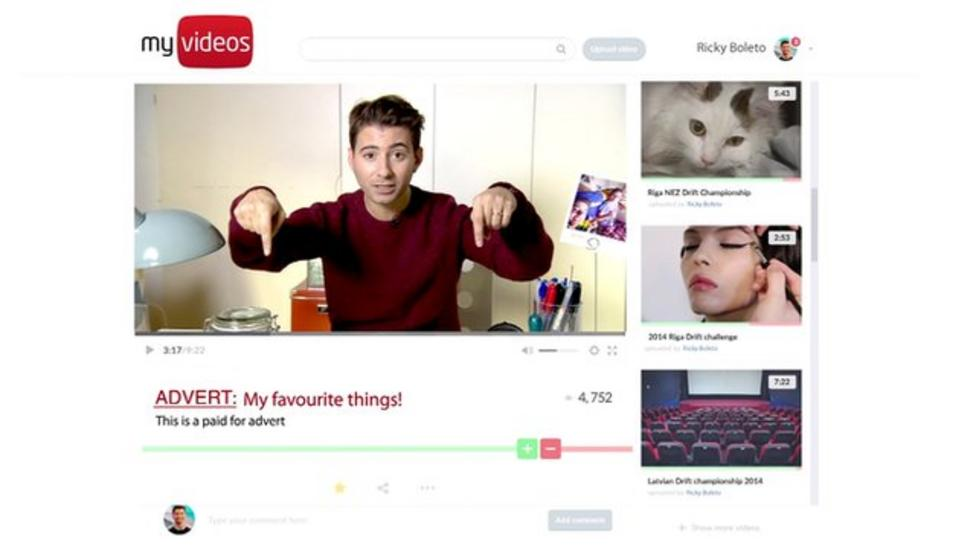 Vloggers warned over unclear adverts