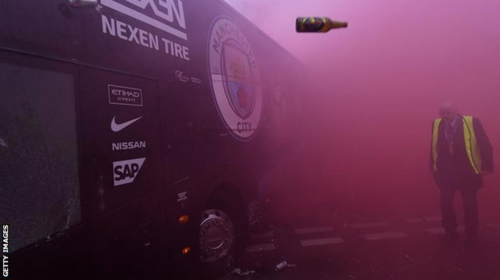 Manchester City bus