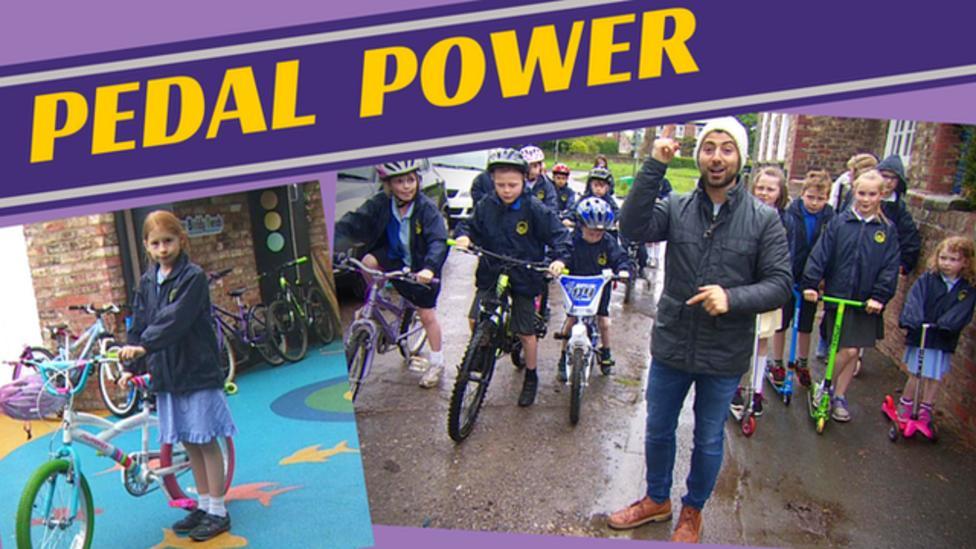 Award winning bike riders