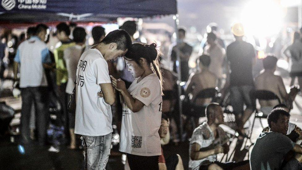 Rescue effort continues in China