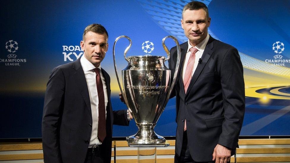 Шевченко і Кличко