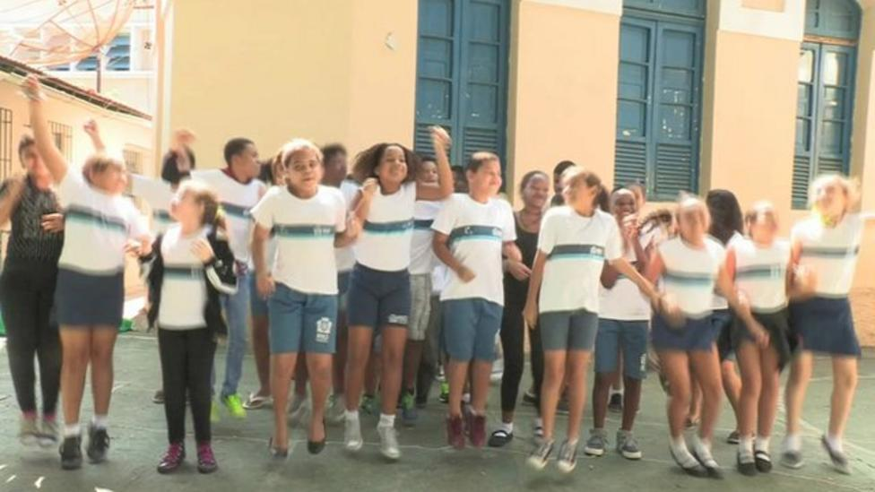 Sport brings disabled and able-bodied kids together in Brazil