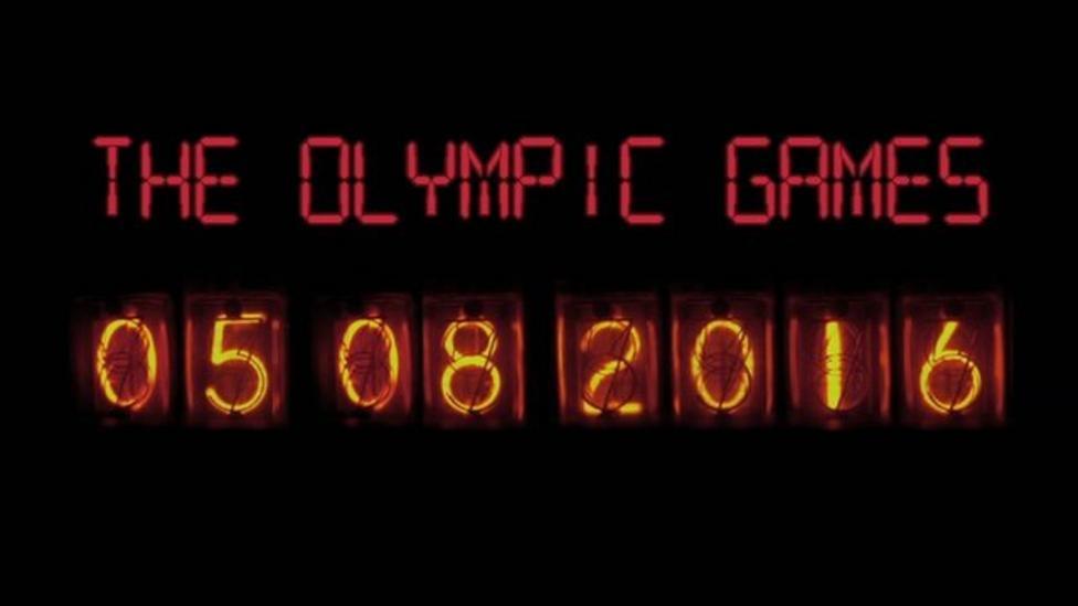 Olympics countdown: 100 days to go