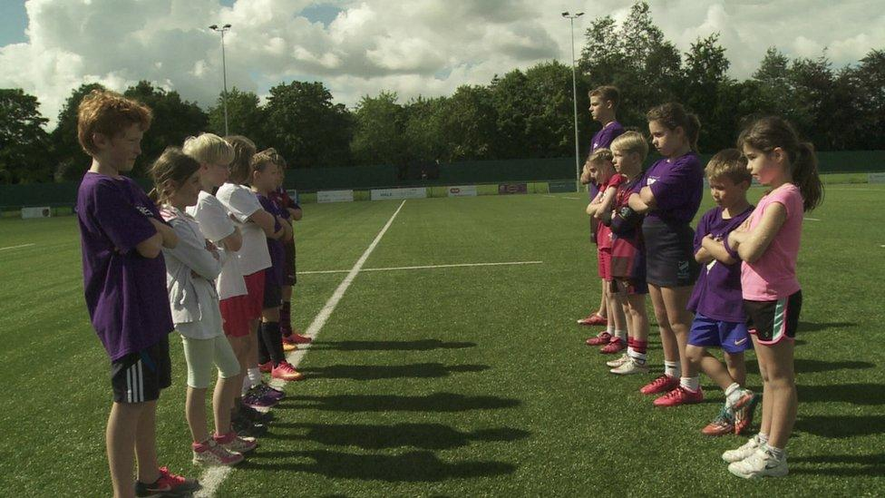 The rules of touch rugby