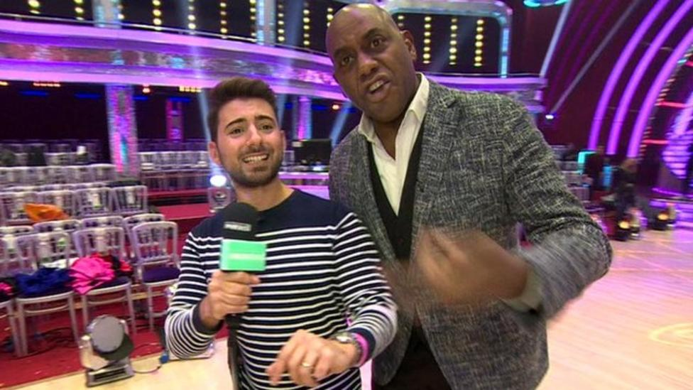 Presenter kicked out of Strictly studio