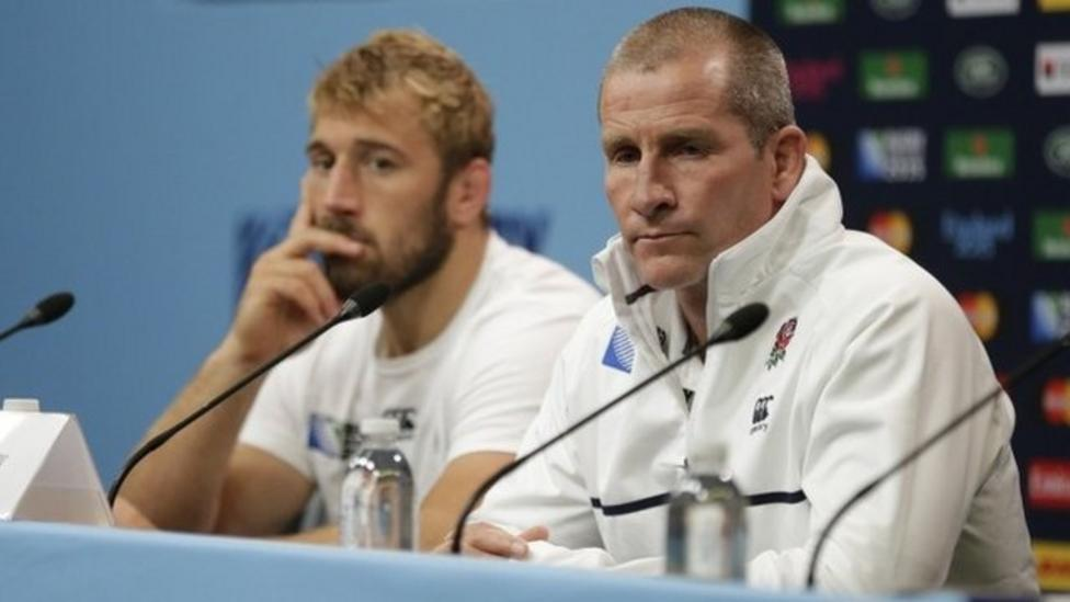 England out of Rugby World Cup