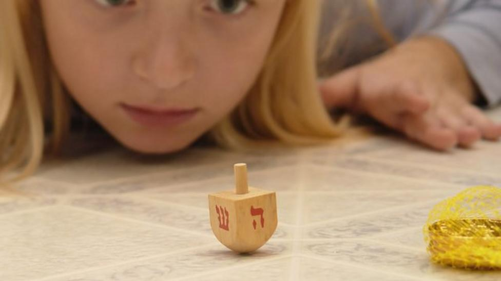 How does the dreidel game work?