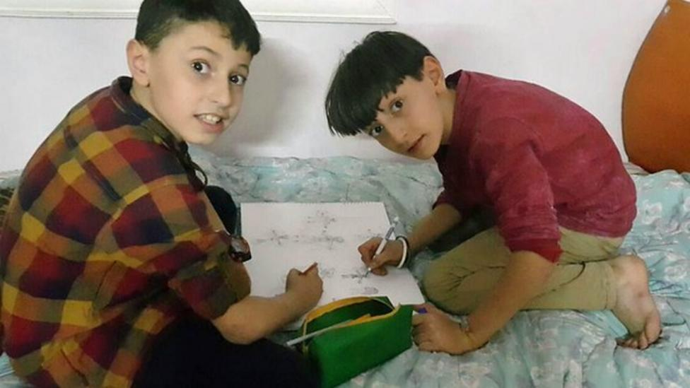 'Please don't forget us' life for kids in Aleppo