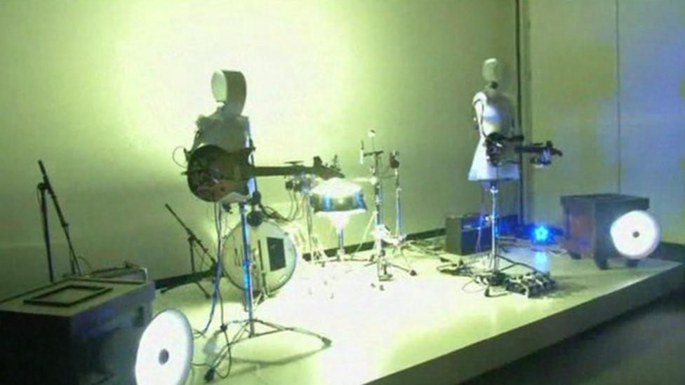 Japan's new robot band