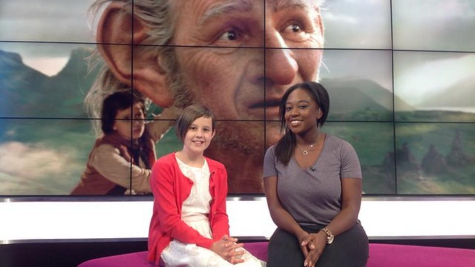 BFG's Ruby Barnhill answers your questions