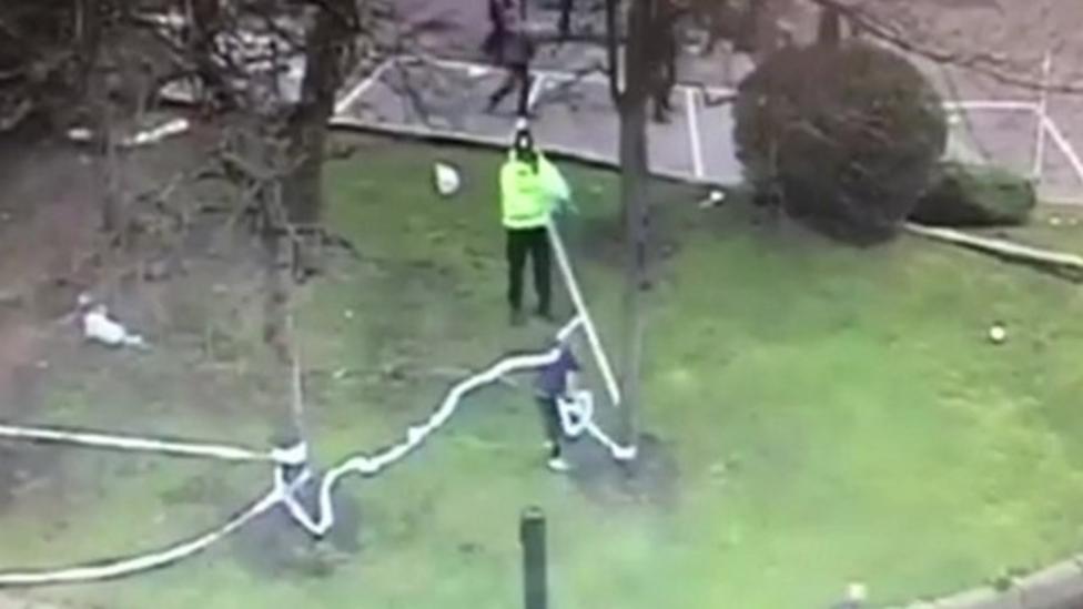 Newcastle fan wins award for helping police