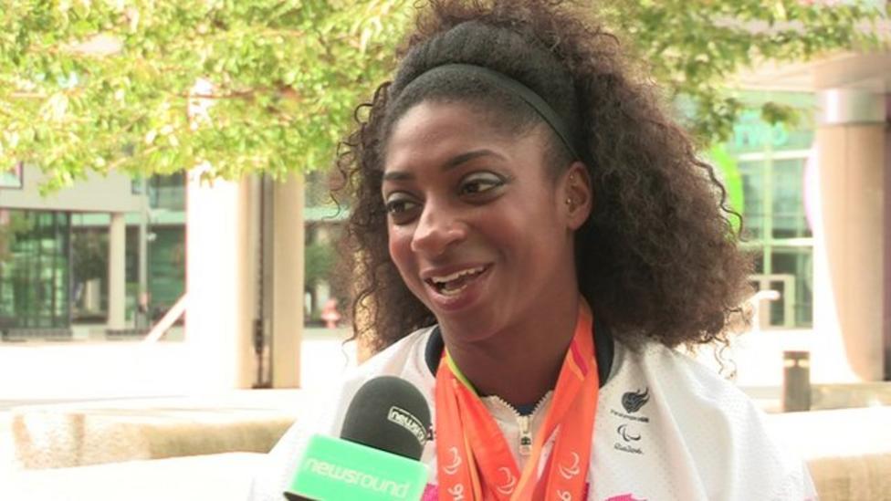 The athlete who inspires Kadeena Cox