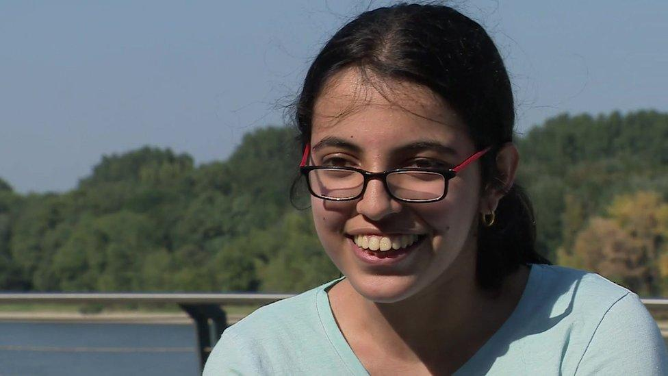 Syria teen refugee: I'm not afraid any more