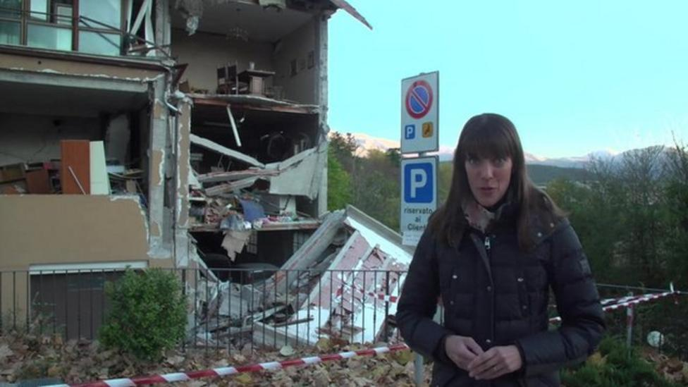 Thousands left without homes after Italy earthquake