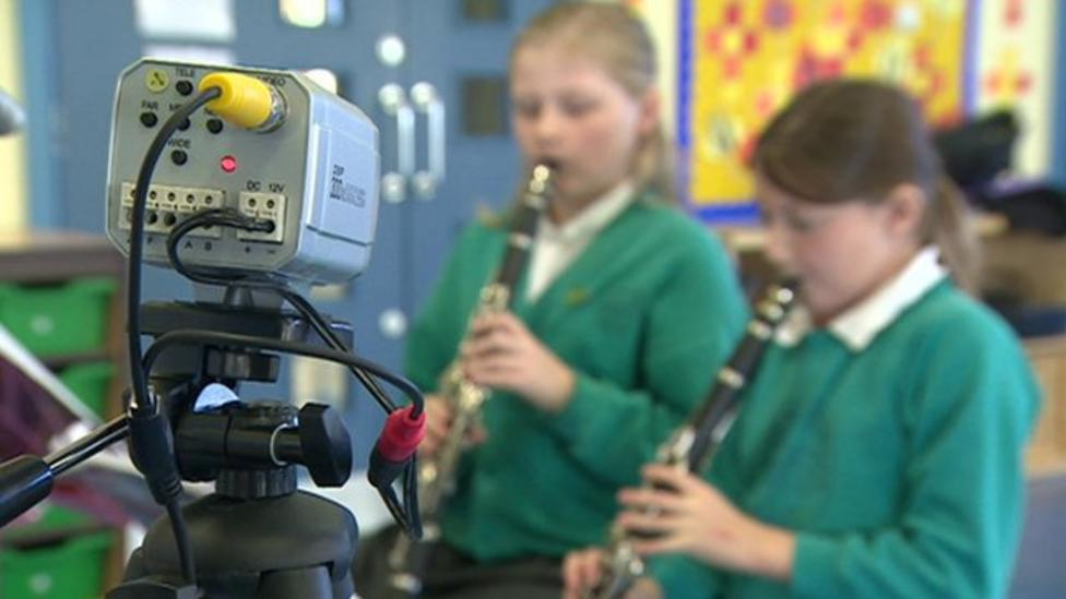 Music lessons with a difference