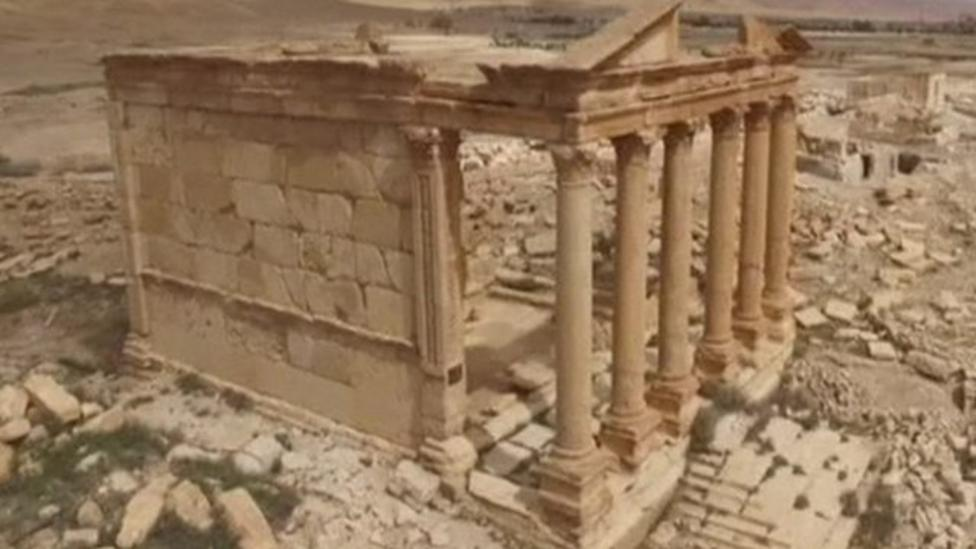 Ancient city taken back from Islamic State