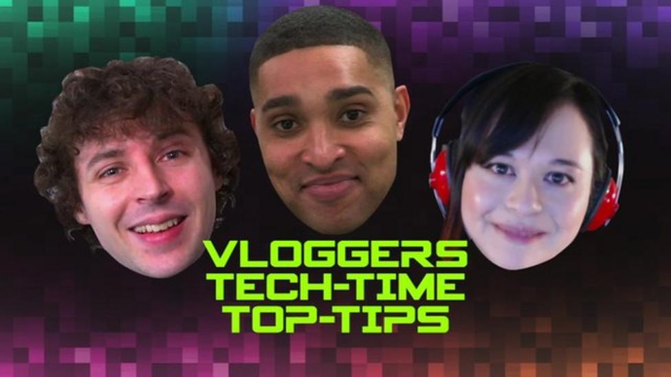 Stampy and Yogscast Kim's tech time top tips