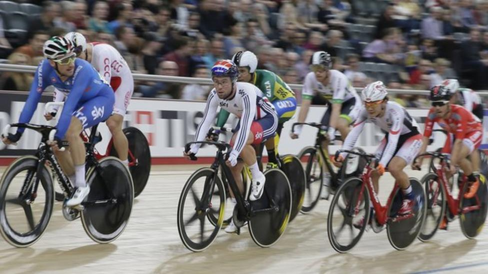 Behind the scenes at the Track Cycling World Championships
