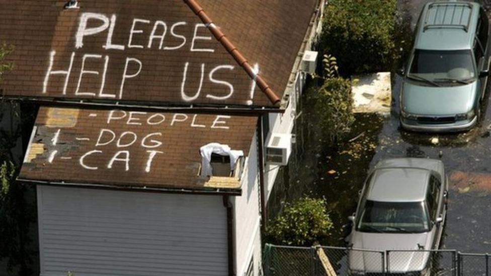 America marks ten years since Katrina