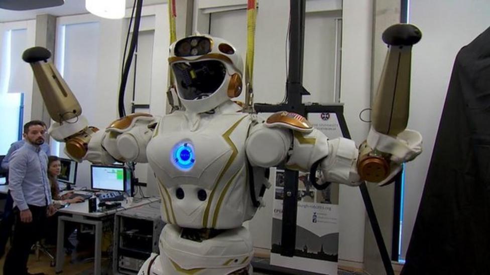 The Nasa robot trained to be like a human