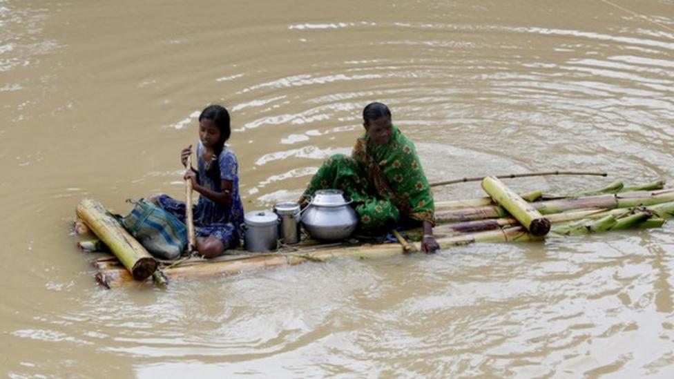 Severe floods hit Southeast Asia