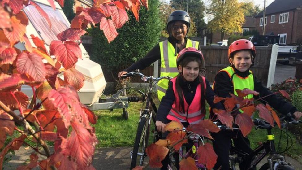 How do you get more kids cycling to school?
