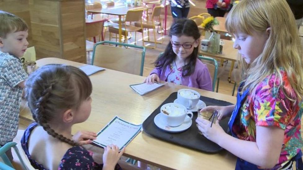 Kids only cafe ready for business
