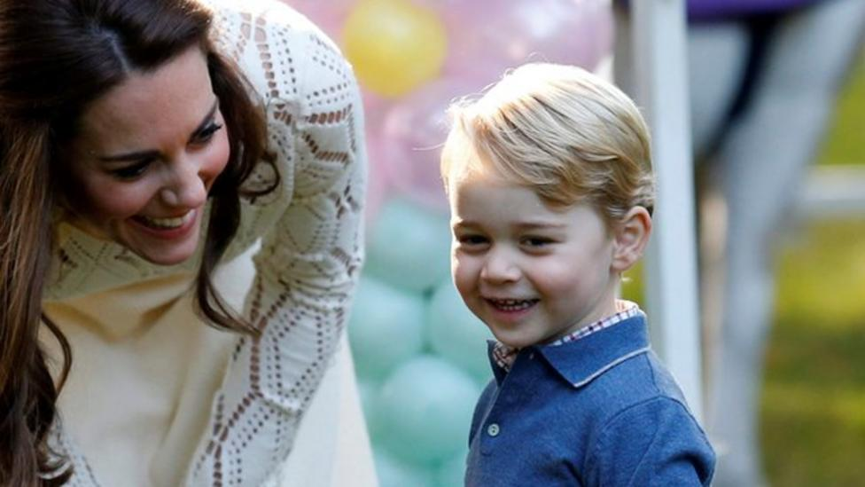 Prince George is a 'little rascal!'