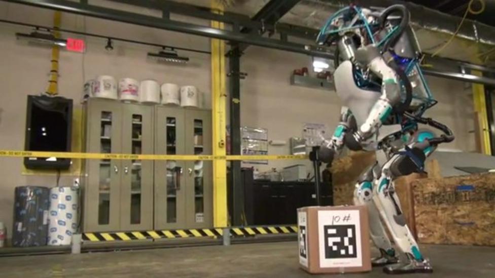 New humanoid robot unveiled