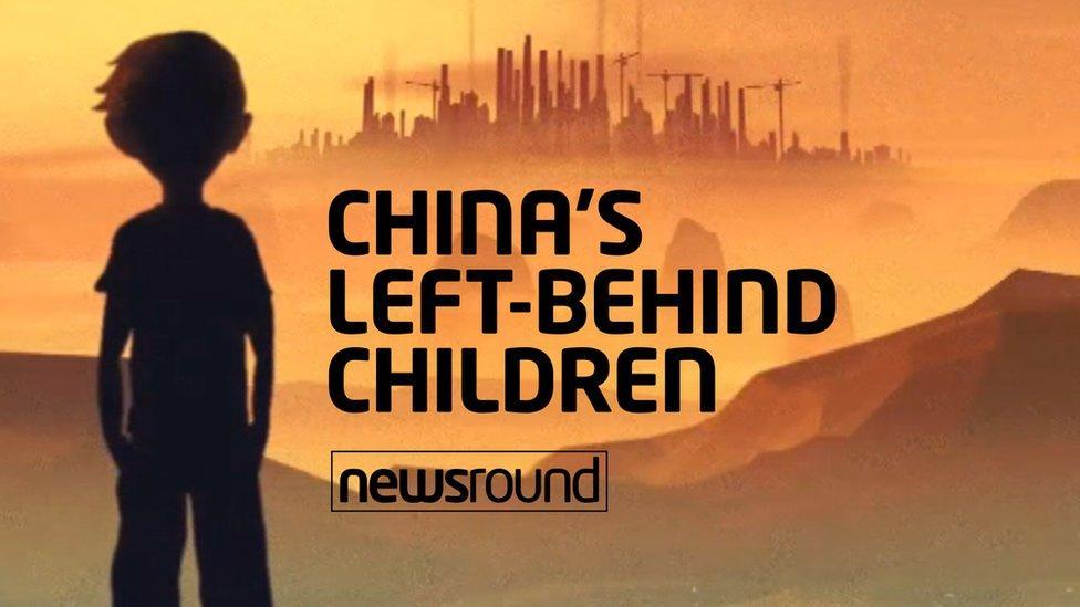 China's left-behind children