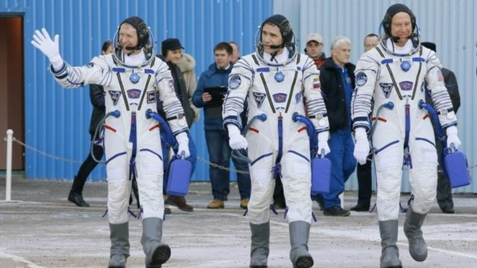 Tim Peake's epic journey to the ISS