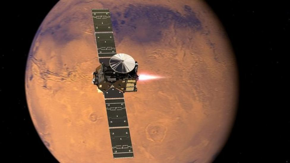 Spacecraft to search for life on Mars