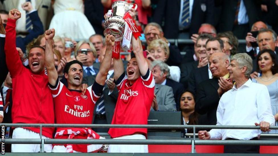Артета допоміг виграти Кубок Англії 2014