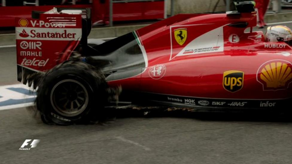 Belgian GP: Vettel, Rosberg and Hembery on tyre failures - BBC Sport