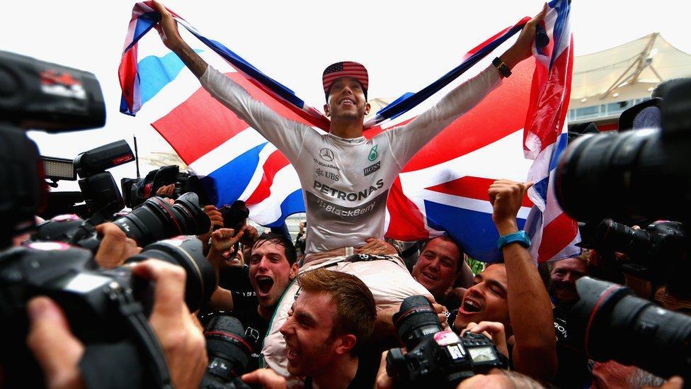 Lewis Hamilton wins third title