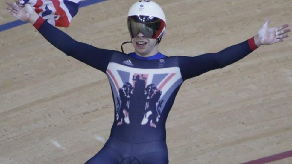Team GB win men's sprint gold