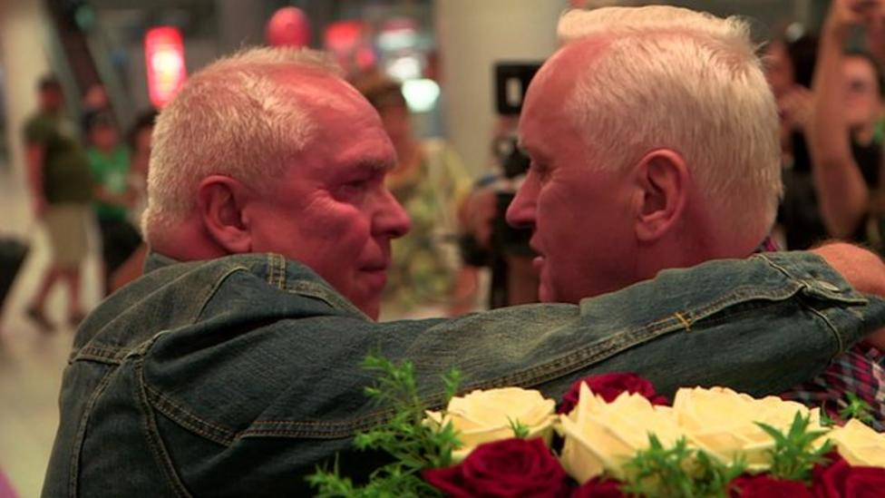 Twins reunited after 70 years
