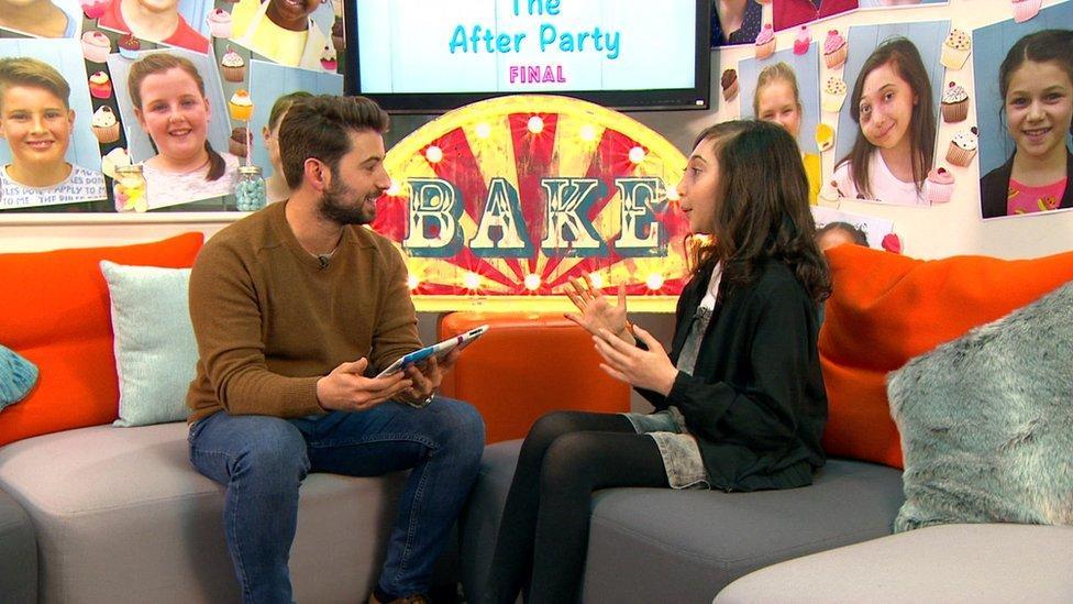 Nikki wins CBBC's Junior Bake Off
