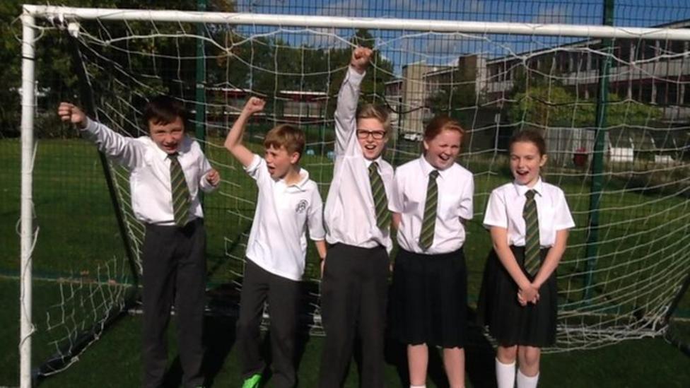 N. Irish kids' football predictions